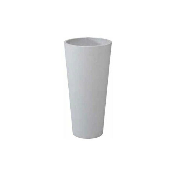 タカショー ロングポット ラルゴ(小)ホワイト PIA-L02SW ●36806800 ホワイト