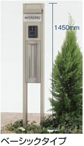 リクシル TOEX スクリーンファンクションユニット ベーシックタイプ 組合せ例1 『リクシル』 『機能門柱 機能ポール』