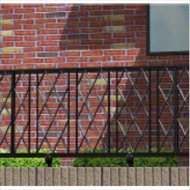 金森メタル ラインフェンス8型 本体 高さ600mm 【支柱は別売】 【アルミ鋳物製】 【アルミフェンス 柵】