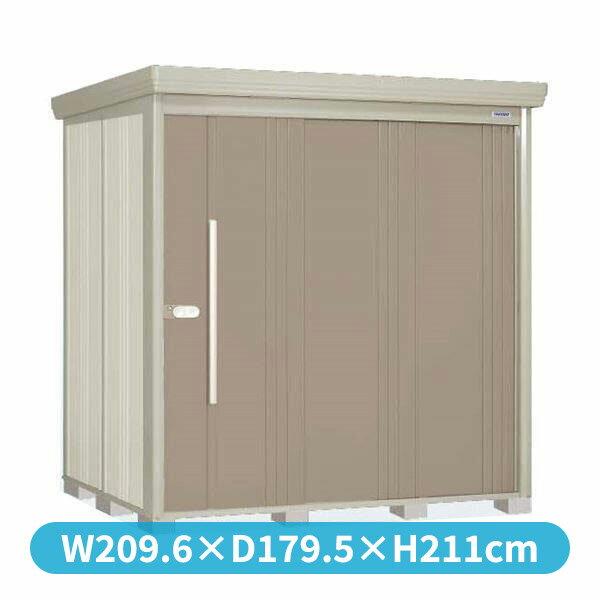 10月31日までのプレゼント企画 タクボ物置 ストックマン ND-Z2015Y 側面棚タイプ 一般型 結露減少型 +床保護マット 1セット付き 『追加金額で工事も可能 屋外用中型・大型物置』 カーボンブラウン