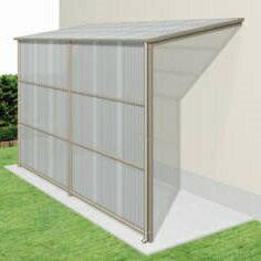 三協アルミ オイトック 4間×6尺 波板タイプ/関東間/H=7尺/基本タイプ/600タイプ/2連棟