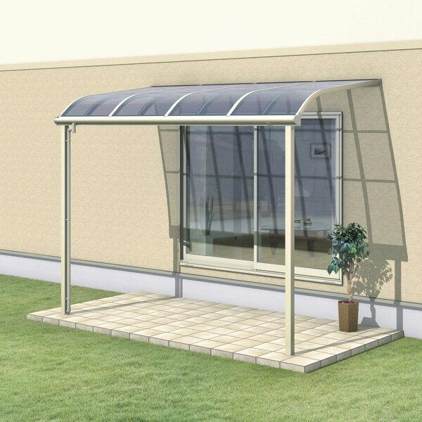 三協アルミ レボリューZ 1.5間×10尺 1500タイプ/メーターモジュール/1階用R型/標準収まり/単体  『テラス屋根』 熱線遮断ポリカ