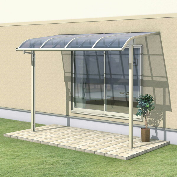 三協アルミ レボリューZ 2.0間×8尺 1500タイプ/関東間/1階用R型/出幅移動収まり/単体  『テラス屋根』 熱線遮断ポリカ