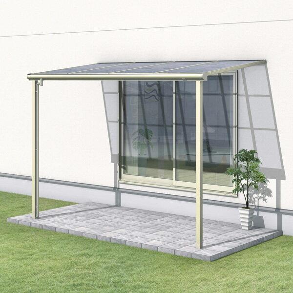 三協アルミ レボリューZ 2.5間×7尺 1500タイプ/メーターモジュール/1階用F型/標準収まり/2連結  『テラス屋根』 熱線遮断ポリカ