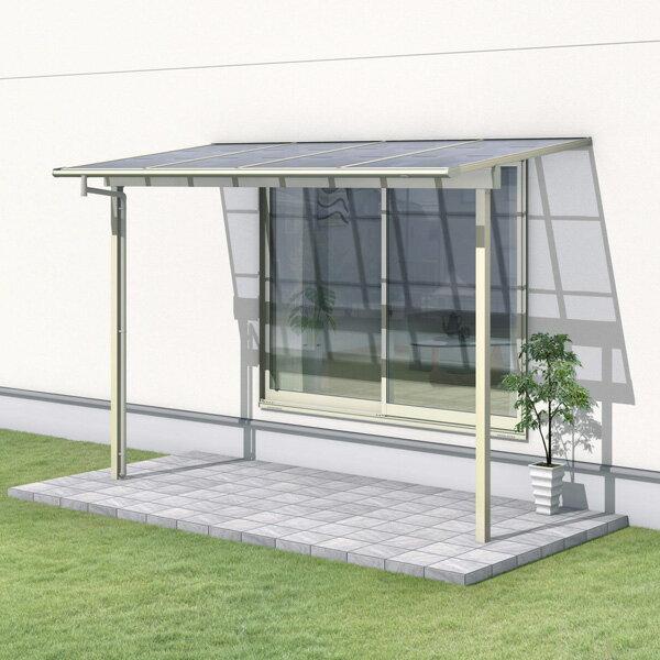 三協アルミ レボリューZ 4.0間×3尺 1500タイプ/関東間/1階用F型/出幅移動収まり/2連結  『テラス屋根』 熱線遮断ポリカ