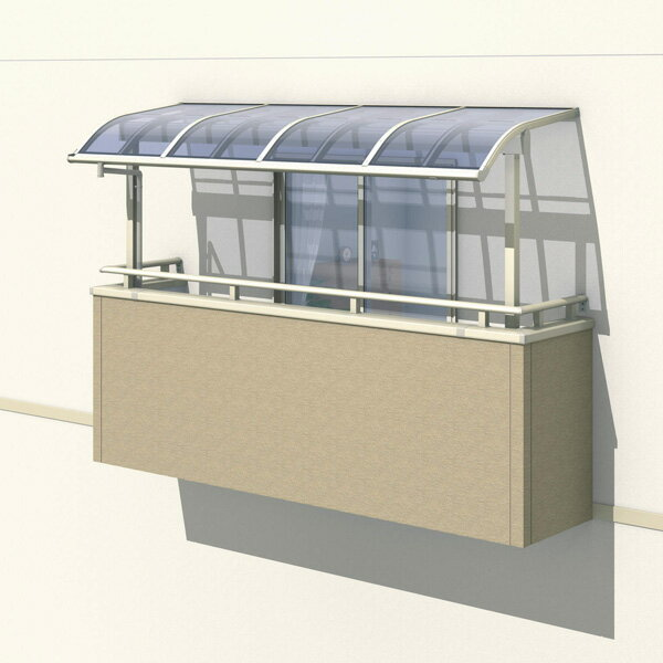 三協アルミ レボリューZ 3.5間×3尺 1500タイプ/メーターモジュール/2階用R型/出幅移動収まり/2連結  『テラス屋根』 ポリカーボネート