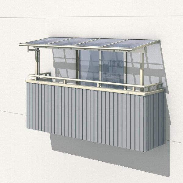三協アルミ レボリューZ 2.5間×6尺 1500タイプ/メーターモジュール/2階用F型/出幅移動収まり/2連結  『テラス屋根』 熱線遮断ポリカ