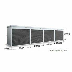 『配送は関東・東海限定』 イナバ物置 FXN-50HDL 土間タイプ 一般型・追加棟(棚板別途) *追加棟施工には基本棟の別途購入が必要です