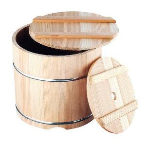 杉製 漬物樽 (ステンレスタガ) 18L<18L>( キッチンブランチ )