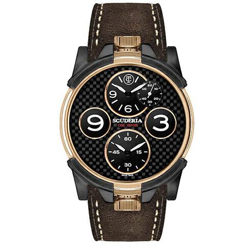 腕時計 CT SCUDERIA  2 TEMPI スクーデリア クオーツ クロノグラフ CS40303 メンズ時計【コンビニ受取対応商品】