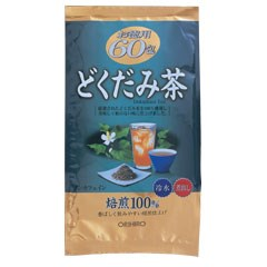 【ポイント13倍相当】オリヒロ株式会社徳用どくだみ茶60包 3g×60包×40箱セット【RCP】