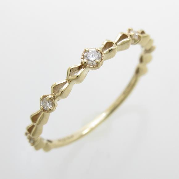 ジュピター ダイヤモンドリング【中古】
