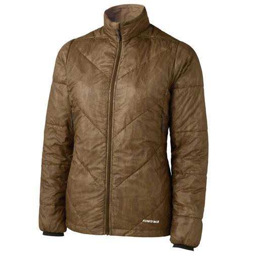 ファイントラック ジャケット レディース/女性用 FIW0211 (BSブラウンシュガー)ポリゴン2ULジャケット【ファインポリゴン】【アウター】【防寒着】