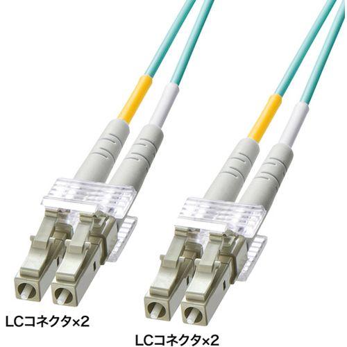 サンワサプライ OM3光ファイバケーブル 製品型番:HKB-OM3LCLC-02L
