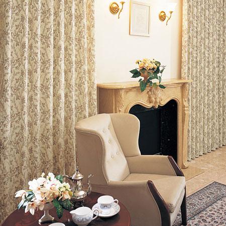 カーテン オーダーカーテン リヨン織物美術館 東リ プラスボヌール KTB5103 フラット縫製(FT) 幅120~260cm×丈221~240cm