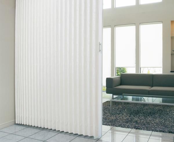 TOSO アコーディオンドア(アコーディオンカーテン) クローザーライト マトリクス 幅176~200cm×丈201~210cm