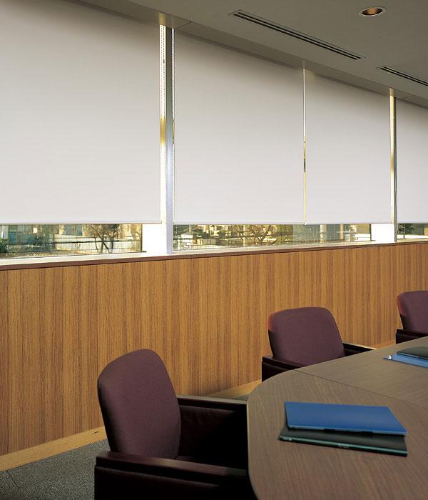 ロールスクリーン ニチベイ グラミネート ロールカーテン 幅51~80cm×丈121~160cm