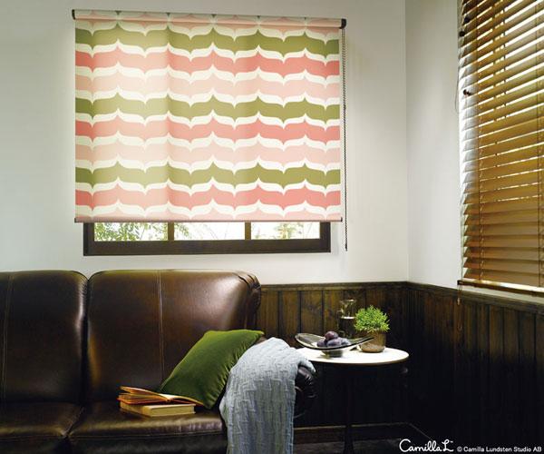 ロールスクリーン ニチベイ ストランド ウォッシャブルタイプ ロールカーテン 幅121~160cm×丈121~160cm