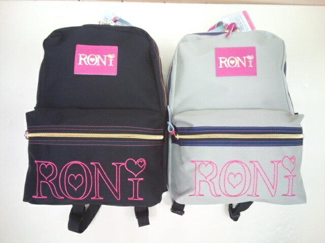RONI(ロニィ)★レザーアクセント刺繍入りリュック /軽量/お出かけ用