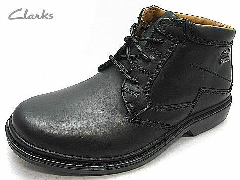 送料無料メンズ 紳士 靴Clarks Rockie Hi GTX クラークス ロッキーハイ GTX透湿防水 ゴアテックスコンフォートブーツ レザー天然皮革 178E ブラック
