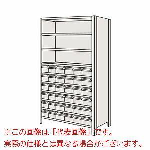 サカエ 物品棚LEK型樹脂ボックス LWEK1110-36T 【代引き不可・配送時間指定不可】