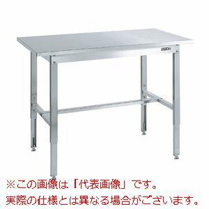サカエ ステンレス高さ調整作業台 SUT4-127N 【代引き不可・配送時間指定不可】