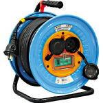 【送料無料】日動 電工ドラム 防雨防塵型三相200V アース過負荷漏電しゃ断器付 30m DNW-EK330-20A