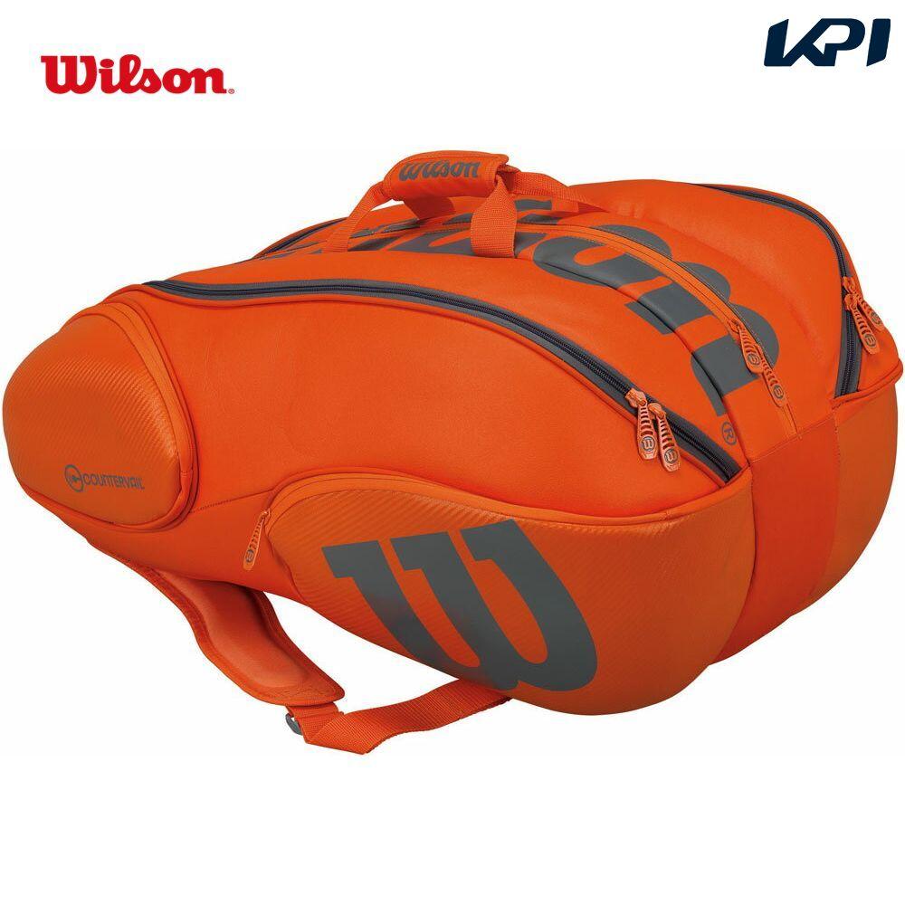 『即日出荷』 「2017新製品」Wilson(ウィルソン)[VANCOUVER 15 PACK ORGY WRZ849715]テニスバッグ「あす楽対応」【kpi_d】