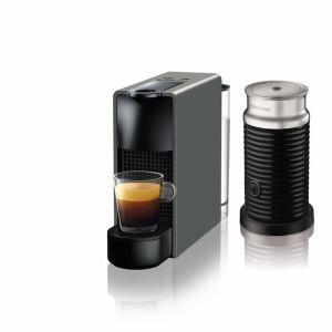 【納期約1~2週間】ネスプレッソ C30GR-A3B 専用カプセル式コーヒーメーカー 「エッセンサ・ミニ」 バンドルセット インテンスグレー