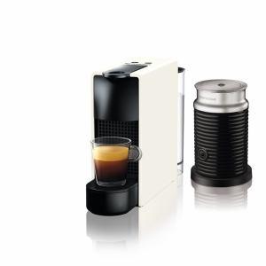 【納期約1~2週間】ネスプレッソ C30WH-A3B 専用カプセル式コーヒーメーカー 「エッセンサ・ミニ」 バンドルセット ピュアホワイト