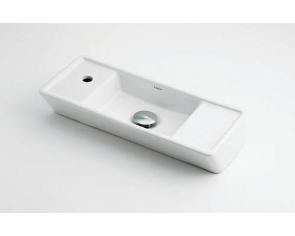 角型手洗器 493-065【カクダイ】