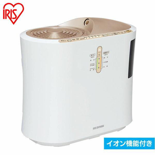 【送料無料】強力ハイブリッド加湿器 750ml SPK-750Z-N ゴールド (イオン付) アイリスオーヤマ