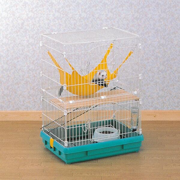 フェレットケージFK-652 パステルグリーン【アイリスオーヤマ】(ご家庭、ご家族のハムスターリスフェレットに・ペット用品・小さいサイズ・小屋・小型)【送料無料】