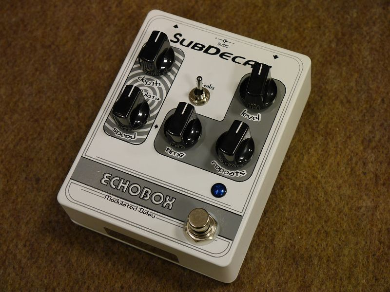 Subdecay Echobox Modulated Delay【町田店】 超売れ筋商品 Blog
