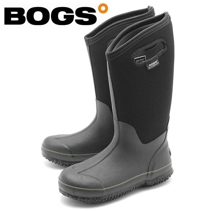ボグス BOGS レインブーツ レディース クラシック ハイ ブラック(bogs CLASSIC HIGH 71570) レディース(女性用)防水 防滑 保温 スノーブーツ 送料無料