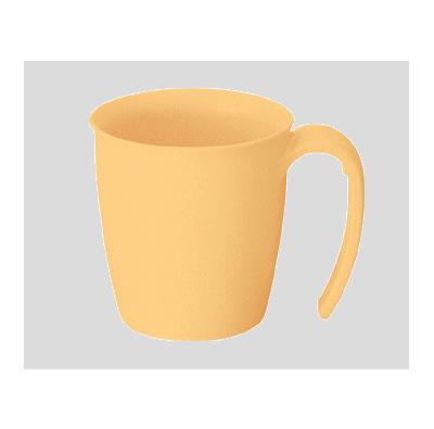 【Daiwa|プラスチック食器|持ちやすいコップ|介護・自助食器|病院|施設】【10個セット/10個以上端数注文可】Suマグカップ イエロー(86×113×H82mm・260ml) (台和)[HS-300-Y]