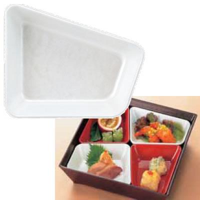 【Daiwa|業務用食器|ABS製|松花堂弁当|中子|仕切】【10点セット】8.5寸バリュー皿(小) アクア(152×119×H33mm) (台和)[ND-2012]