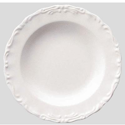 【Daiwa|プラスチック食器|メラミン製|業務用食器|社員食堂|学食|飲食店】【10個セット/10個以上端数注文可】スープ皿 リーフ(Φ230×H32mm) (台和)[RD-4-L]
