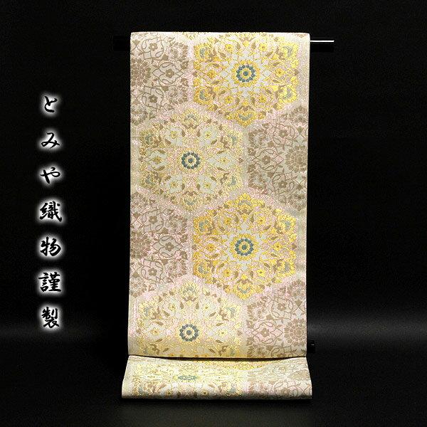 ■「とみや織物」 輝羅羅箔使用 光のマジック 光の宴 袋帯■