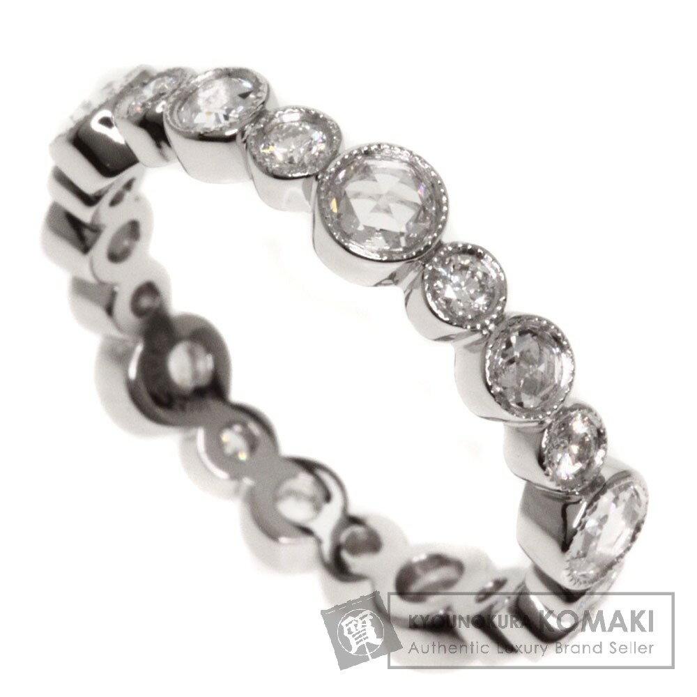 TIFFANY&Co. コブルストーン ダイヤモンド リング・指輪 プラチナPT950 レディース 【中古】【ティファニー】