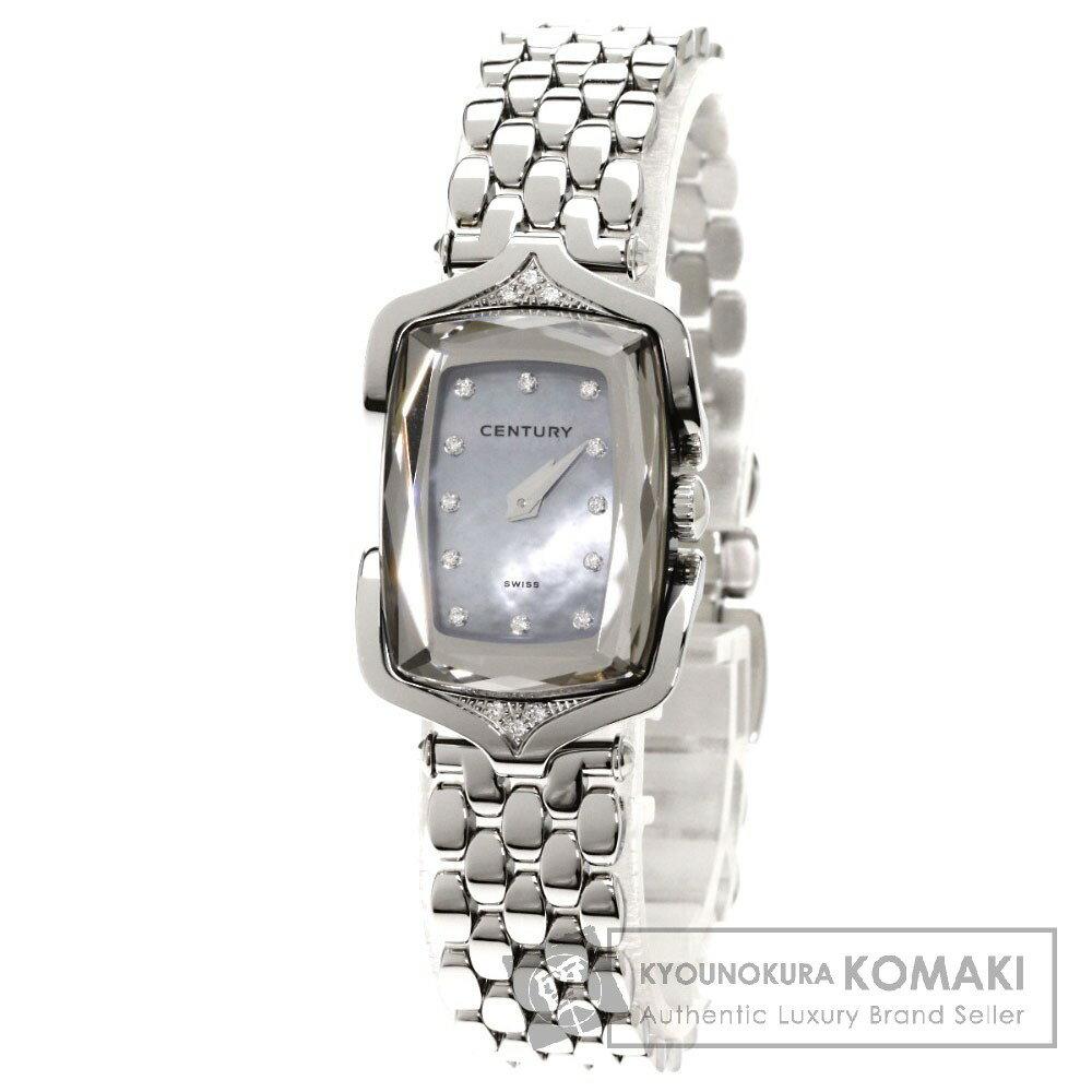 CENTURY432.7.S.22.16SK アフィニティ 腕時計 ステンレス/SS レディース 【中古】【センチュリー】