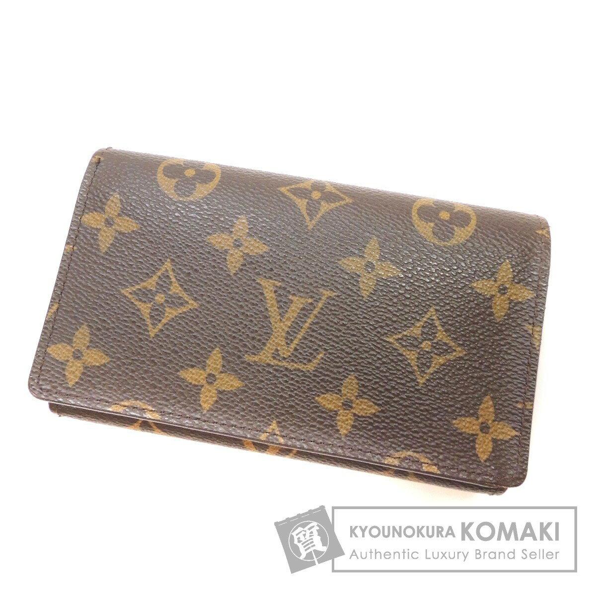 LOUIS VUITTON ポルトフォイユトレゾール M61736  二つ折り財布(小銭入れあり) モノグラムキャンバス レディース 【中古】【ルイ・ヴィトン】