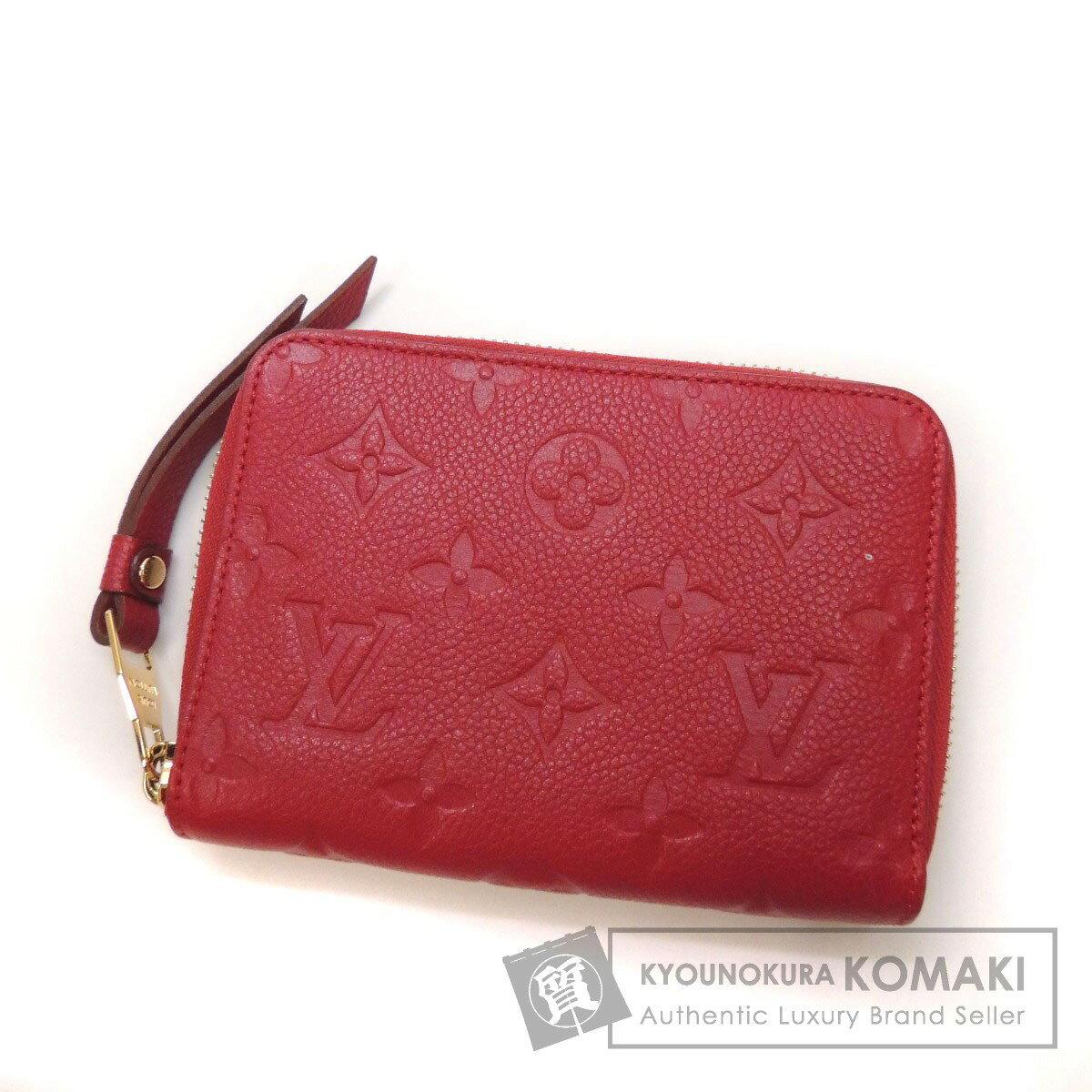 LOUIS VUITTON コンパクトジップ 二つ折り財布(小銭入れあり) アンプラント レディース 【中古】【ルイ・ヴィトン】