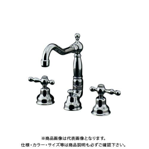 カクダイ KAKUDAI 2ハンドル混合栓 153-026