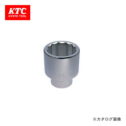KTC 25.4sq. ソケット(十二角) B50-83