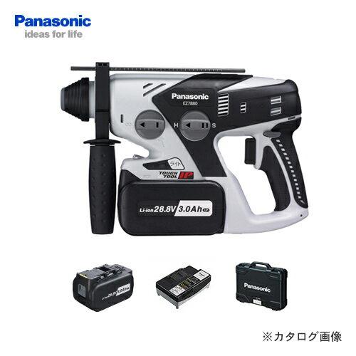 【お買い得】パナソニック Panasonic EZ7880LP2S-B 28.8V 3.0Ah 充電式ハンマードリル