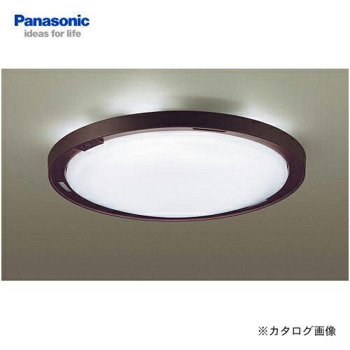 パナソニック Panasonic LEDシーリングライト エバーレッズ(ダークブラウン仕上) LGBZ3103