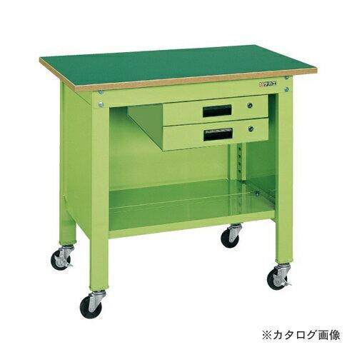 【直送品】サカエ SAKAE 一人用作業台・軽量移動式 CPB-096B