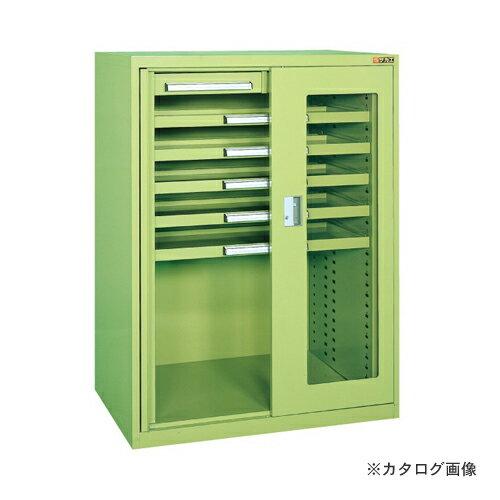 【直送品】サカエ SAKAE ミニ工具室・横ケント式  K-K1021A