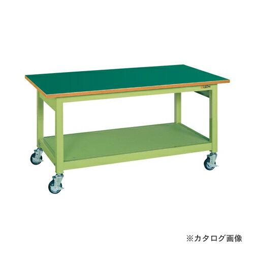 【直送品】サカエ SAKAE 中量作業台KBタイプ移動式 KBF-187